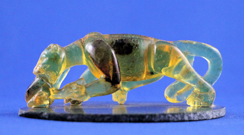 amber carving